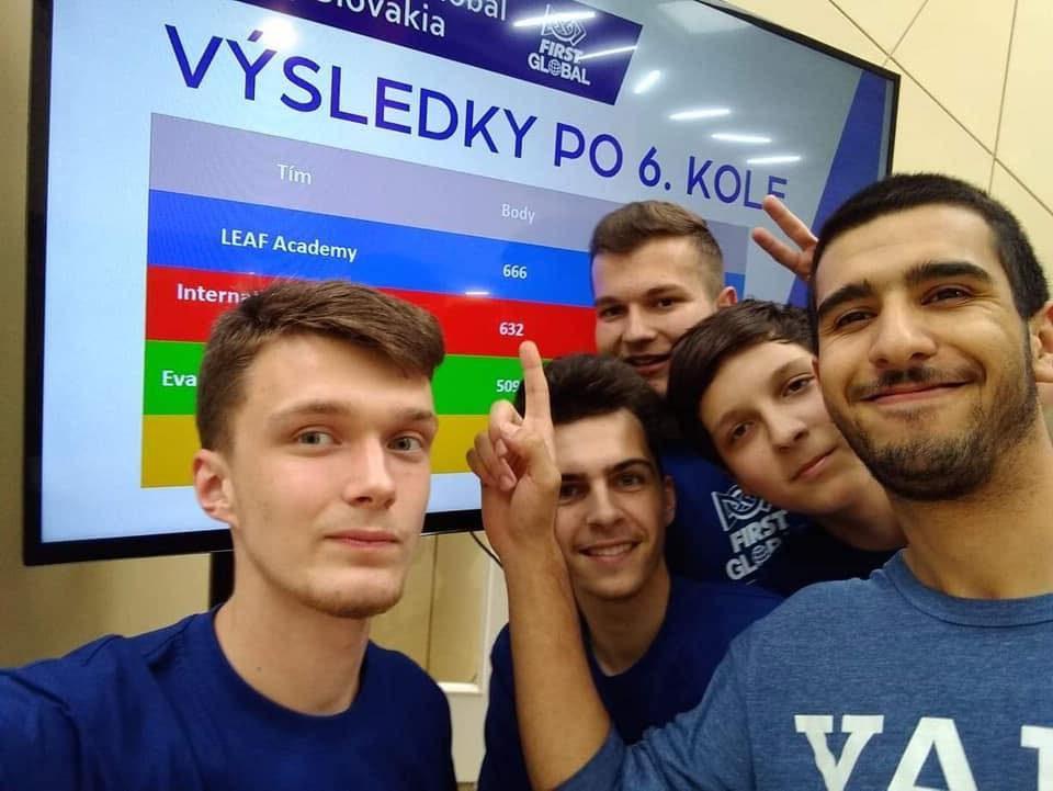 Víťazi národného kola FIRST Global Slovensko 2019